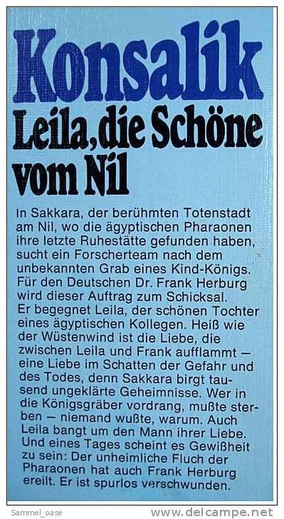 6 Konsalik Taschenbücher = 8 Romane , Der Träumer - Gesang Der Rosen - Sieg Des Herzens - Livres, BD, Revues