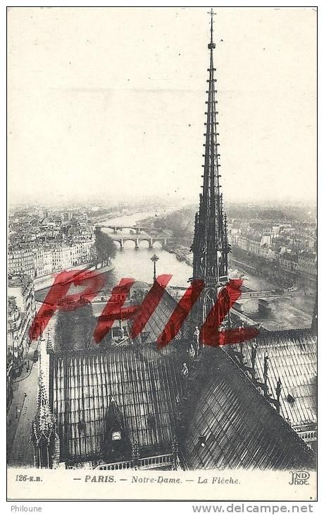 Paris - Notre-Dame - La Flèche, Ref 1203-558 - Notre Dame De Paris