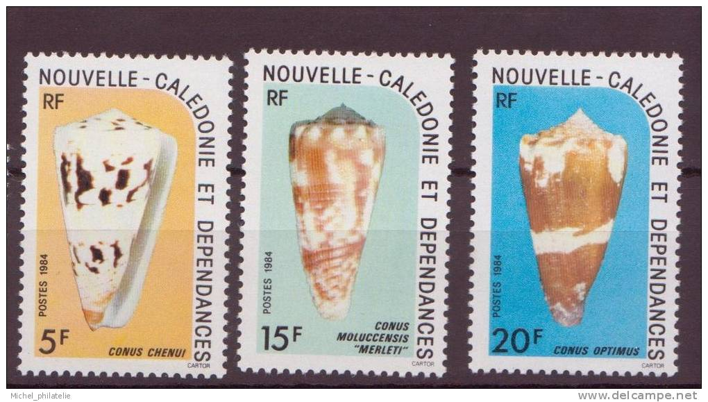 Nouvelles Calédonie N°481/83** Neuf Sans Charniere - Nueva Caledonia