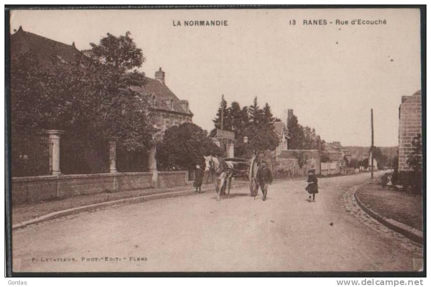 France - Ranes - Rue D'Ecouche - Ecouche