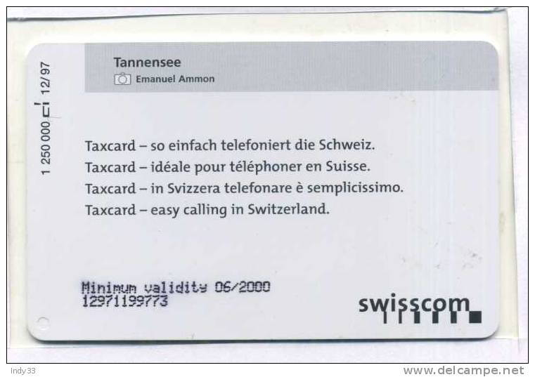 -  SUISSE . SWISSCOM TAXCARD . - Suisse