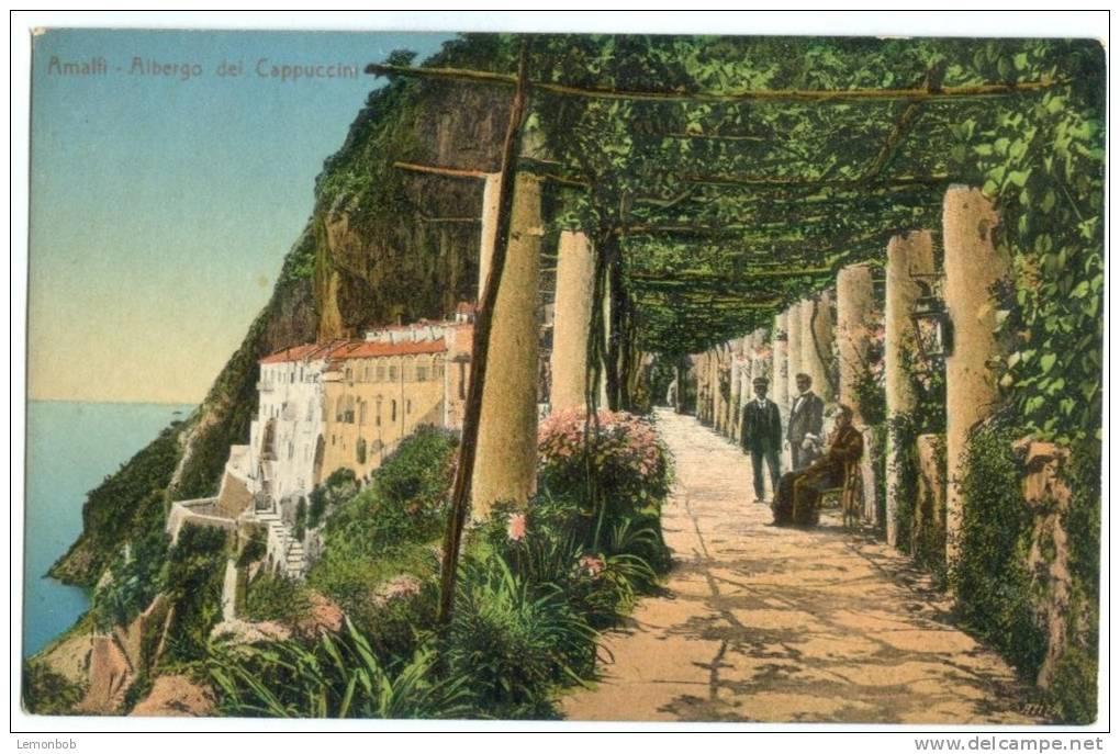 Italy, Amalfi, Albergo Dei Cappuccini, Early 1900s Unused Postcard [P8566] - Salerno