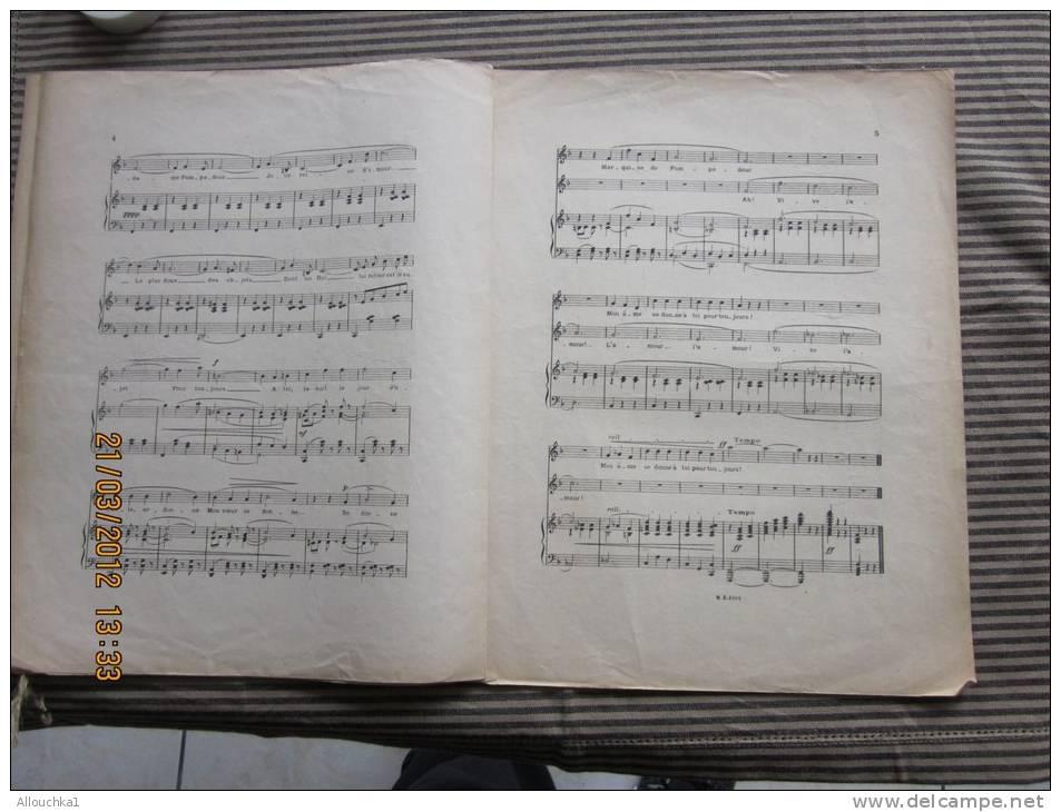 """Partition""""Mme De Pompadour"""" Opérette En 3 Actes Musique De Leo Fall-présenté Au Théâtre Marigny Par Léon Volterra - Opern"""