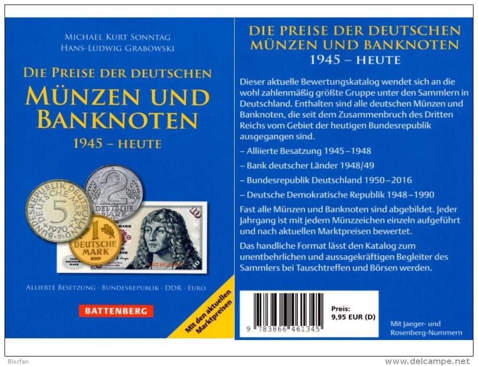 Münzen/Noten Ab 1945 Deutschland 2016 Neu 10€ D AM- BI- Franz.-Zone SBZ DDR Berlin BUND EURO Coins Catalogue BRD Germany - Timbres