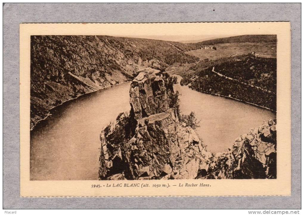 27006   Francia,  Le  Lac  Blanc (alt.  1050 M.),  Le  Rocher  Hans,  NV - France