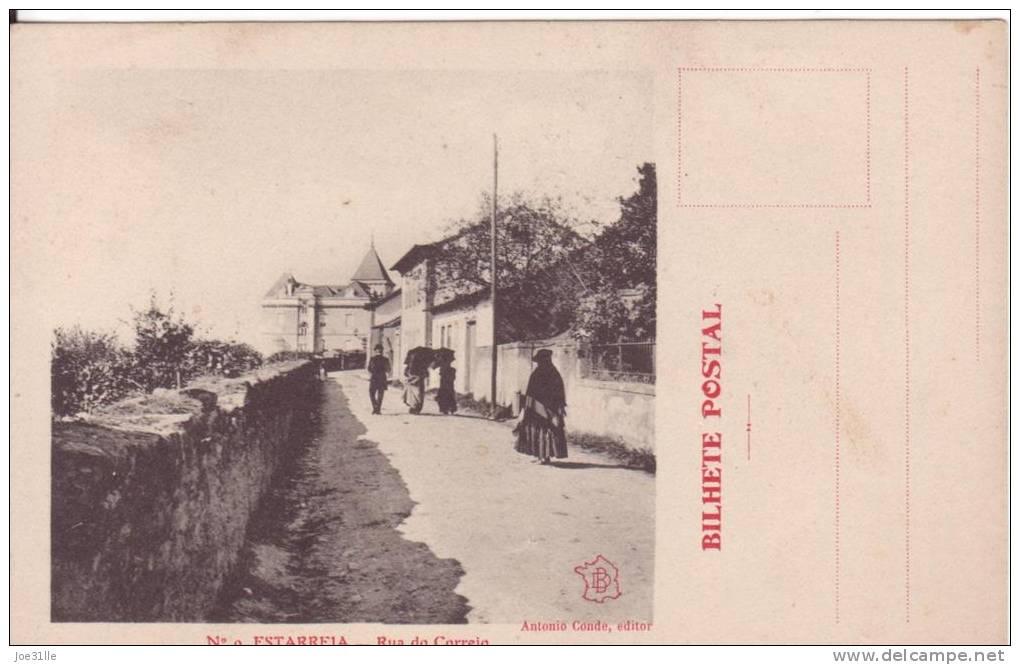 L3237/por--  Estarreja ; Rua Do Correio - Aveiro