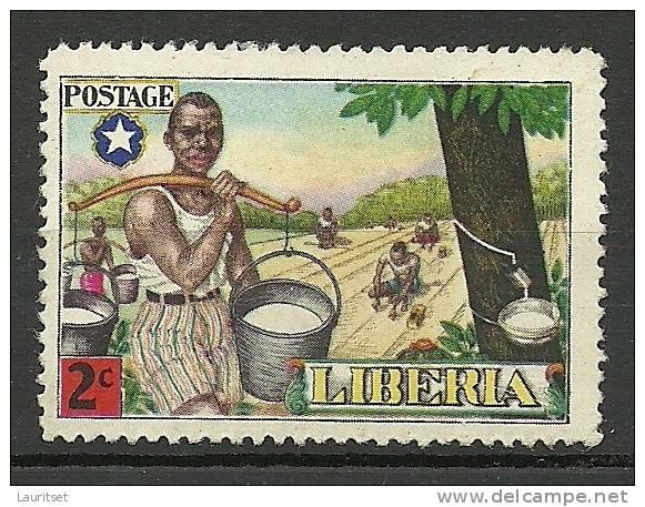 LIBERIA 1949 Michel 421 Tourismus * - Liberia