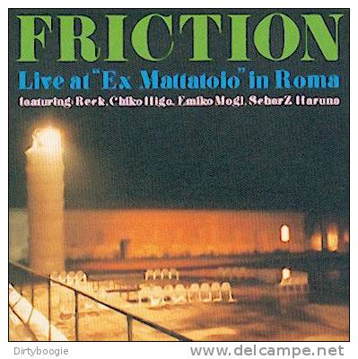 "FRICTION - Live At ""Ex Mattatoio"" In Roma - CD - FREAKY JAZZ - JAPON - Jazz"