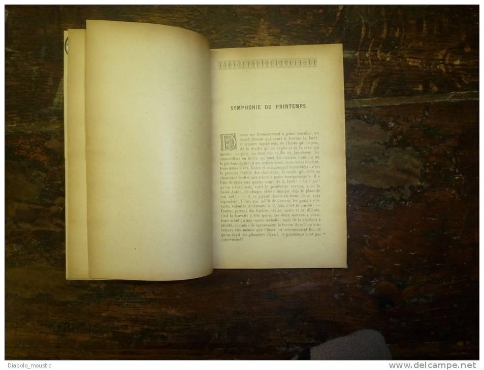 Livre Ancien  , Coiffe En Cuir : NOS OISEAUX  ;  LE MARIAGE DE GERARD (gravures)     Par A. Theuriet ; - Books, Magazines, Comics