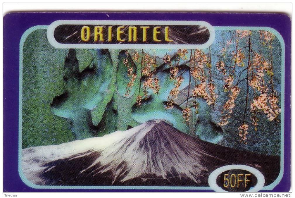 FRANCE PREPAID ORIENTEL FUJI YAMA VOLCAN VOLCANO - Volcans