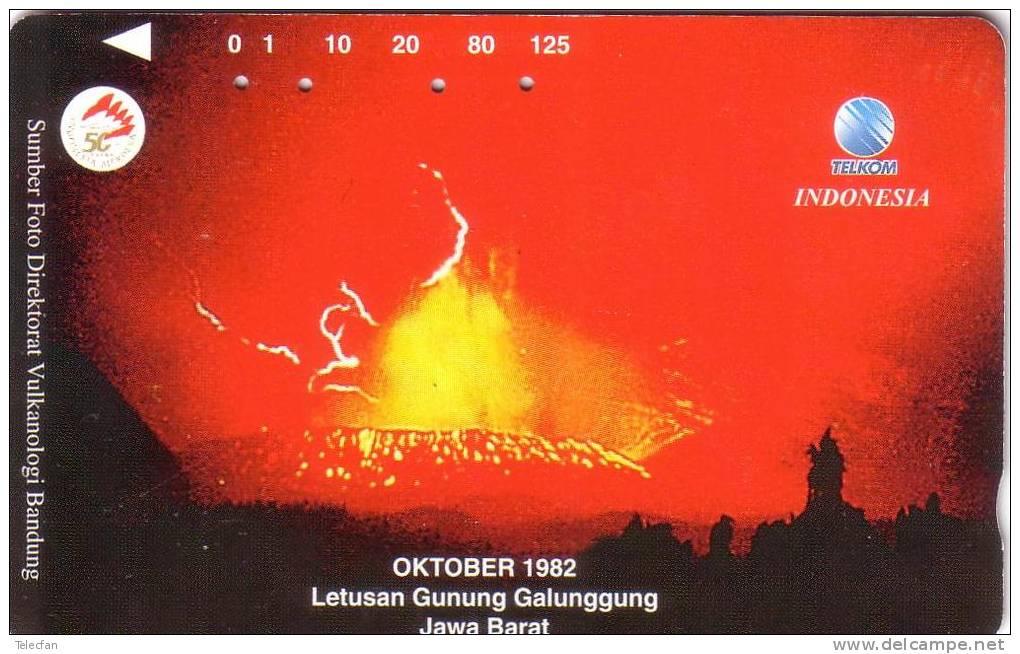 INDONESIE VOLCAN VOLCANO ERUPTION OCTOBRE 1992 UT - Volcans