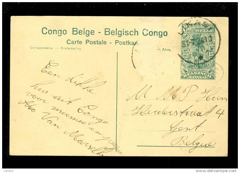 Entier Postal ( 2510 ) Postwaardestuk Congo 15 Centimes LIKASI - N° 86 Kambove Mines Mine Mijn Mijnen - Stamped Stationery