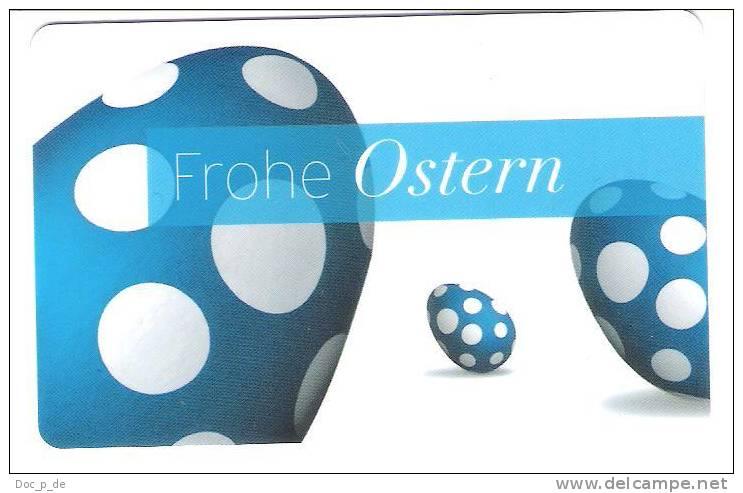 Germany - Carte Cadeau - Gift Card - Karstadt Store - Allemagne - Eastern - Ostern - Frankreich