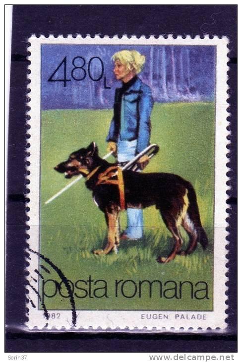 Sello De Romania Año 1982  Yvert Nr. 3379  Usado - Usado