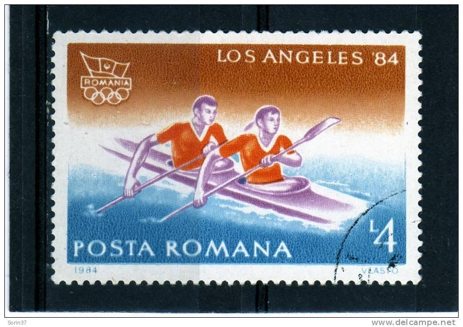 Sello De Romania Año 1984  Yvert Nr.3521  Usado - 1948-.... Repúblicas
