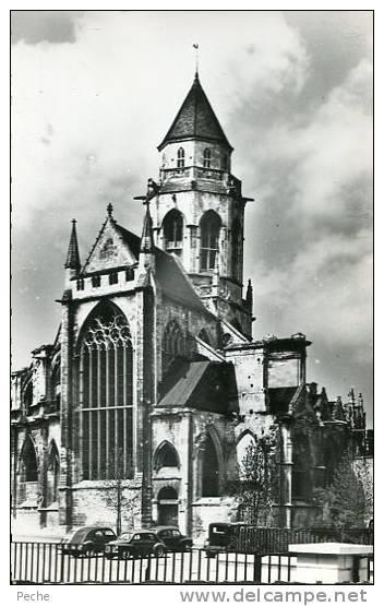 N°18010 -cpsm Caen -vieux St Etienne- - Caen