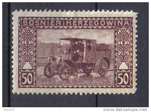 AP230 - BOSNIA ERZEGOVINA 1906 , Il N. 41  *  Mint . - Bosnia Erzegovina