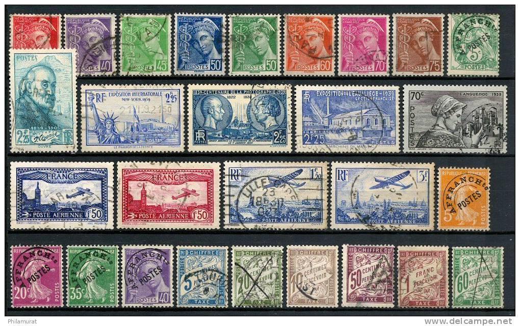 belle collection 258 timbres france avant 1940 cote. Black Bedroom Furniture Sets. Home Design Ideas