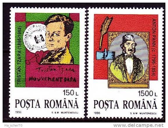 Rumänien 1996 - 5159-60 **/ Michel 2008 - Unused Stamps
