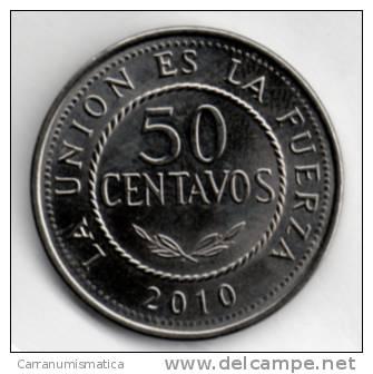 BOLIVIA 50 CENTAVOS 2010 - Bolivia