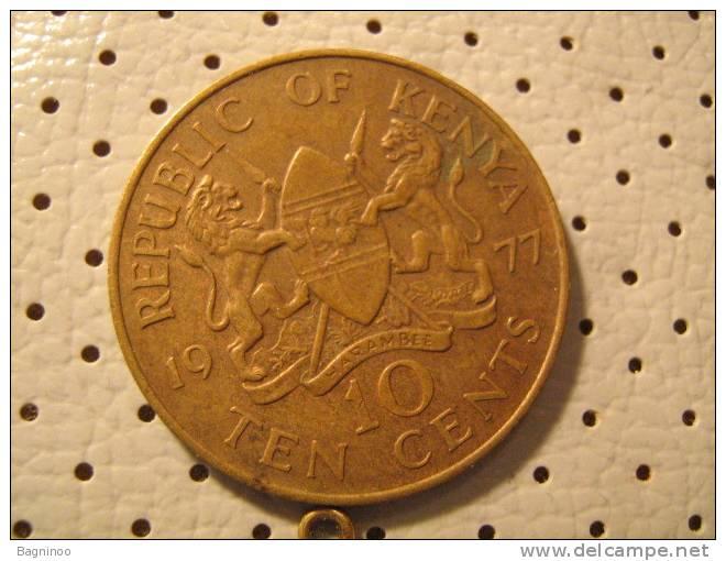 KENYA 10 Cents 1977 - Kenia