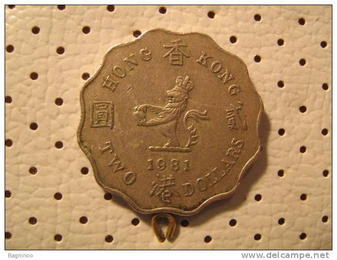 HONG KONG 2 Dollars 1981 - Hong Kong