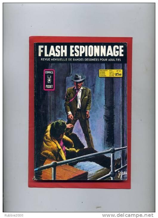 FLASH ESPIONNAGE 1972 NUMERO 35 - Flash