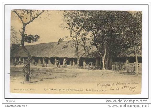 YRI-KIRI (Haute-Guinee francaise).-Le Batiment principal 00-10s