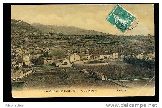 83 LA ROQUEBRUSSANNE / Vue Générale / BELLE CARTE COULEUR - La Roquebrussanne