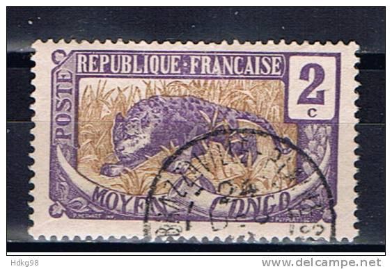 Mittelkongo+ 1907 Mi 2 Leopard - France (ex-colonies & Protectorats)