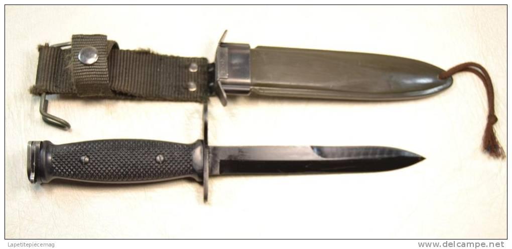 couteau baionnette baio pour fusil d assaut am ricain m16. Black Bedroom Furniture Sets. Home Design Ideas