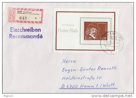 DDR R-Brief EF Minr.Bl.61 Stassfurt - DDR