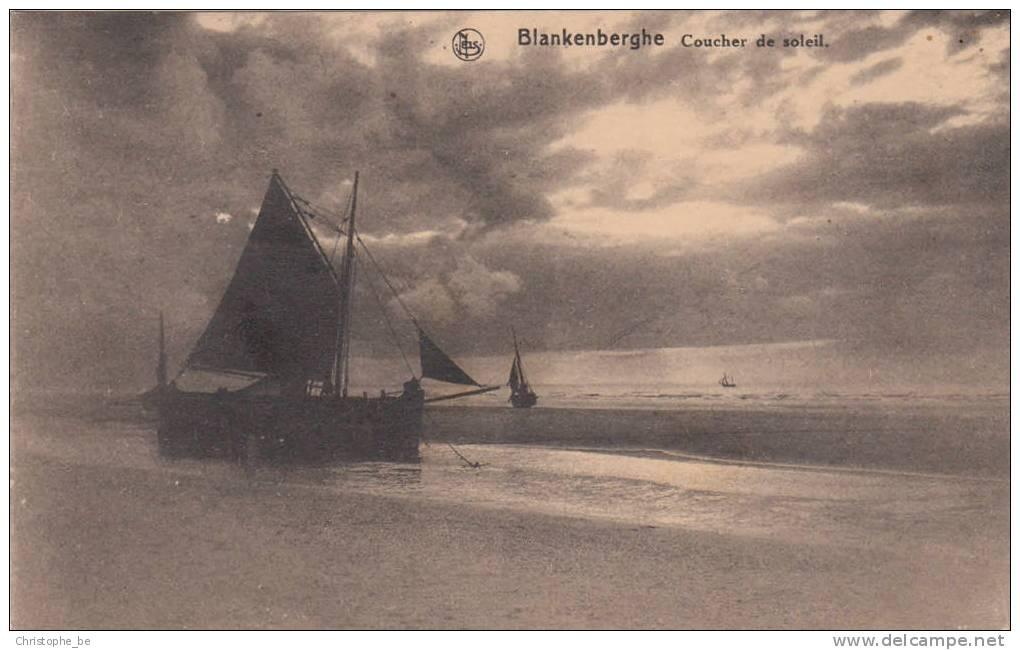 Blankenberghe, Blankenberge, Coucher De Soleil (pk10350) - Blankenberge