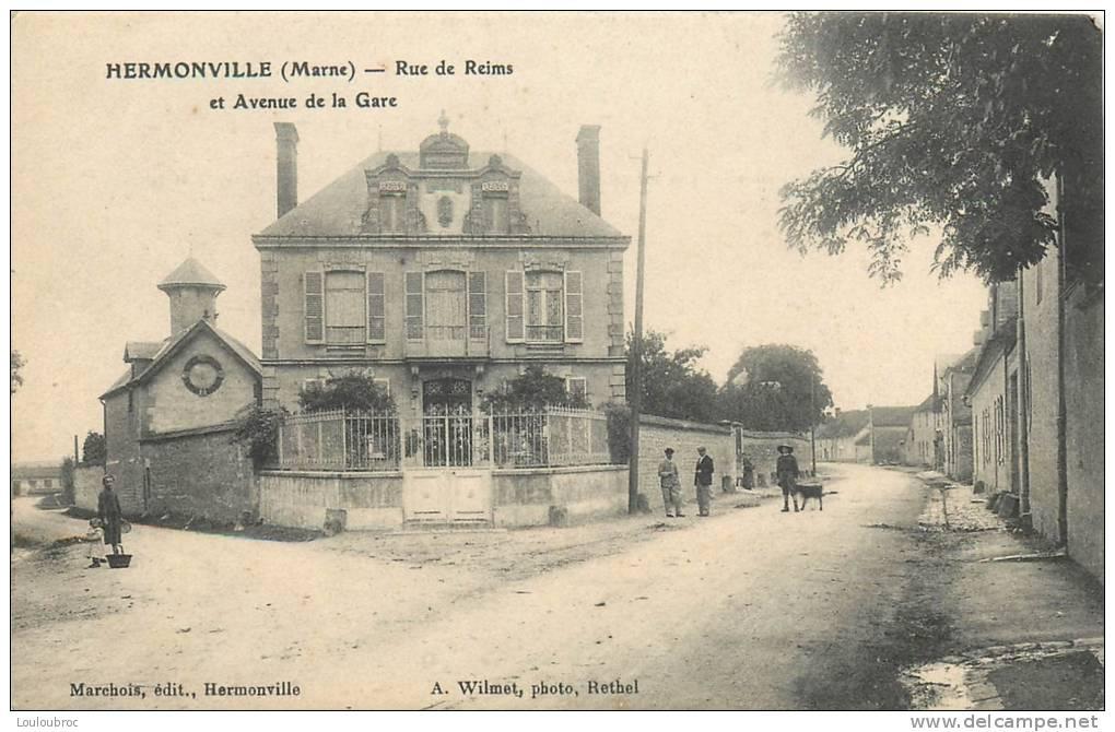 51 HERMONVILLE RUE DE REIMS ET AVENUE DE LA GARE - France