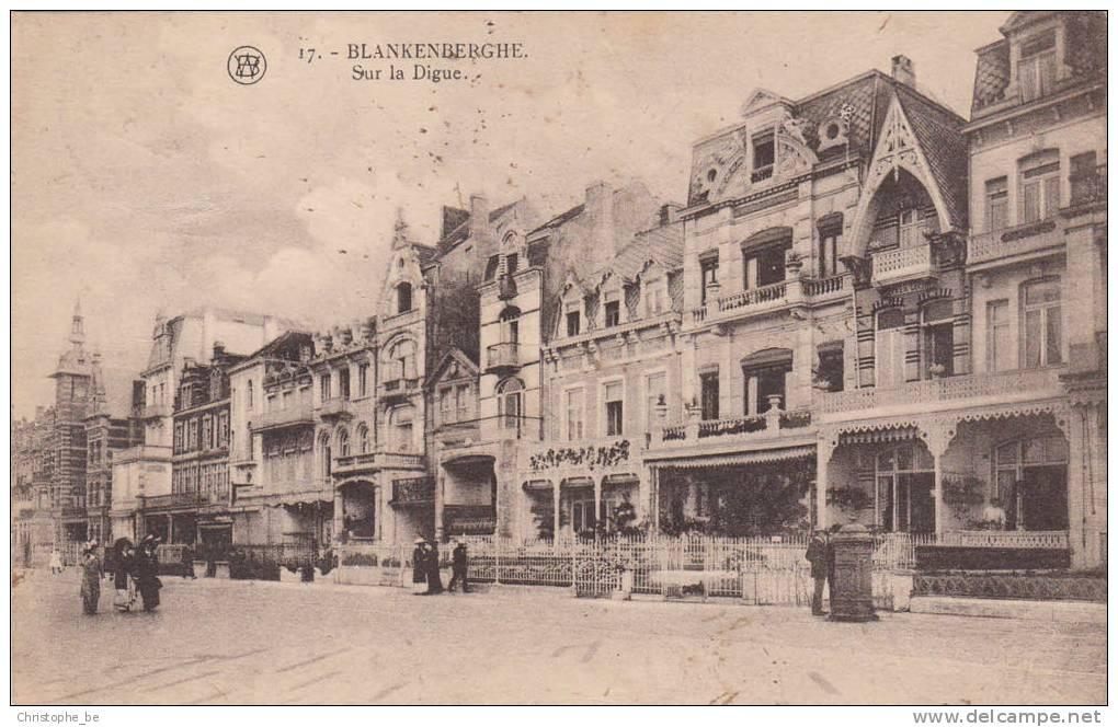 Blankenberge, Blankenberghe Sur La Digue (pk10417) - Blankenberge