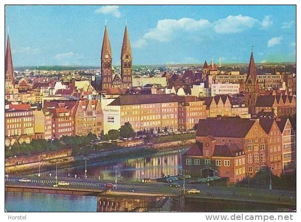 D-28195 Bremen - Weser Und Bürgermeister-Smidt-Brücke - Bremerhaven