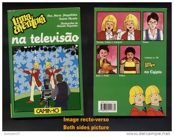 Livre Book Livro Uma Aventura Na Televisão N° 39 Ouvrage En Portugais 1998 CAMINHO - Livres, BD, Revues