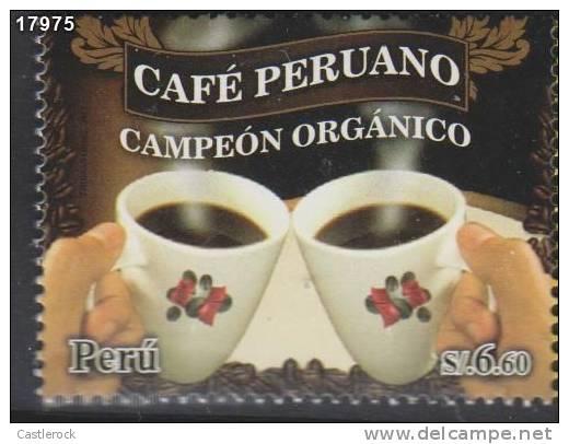 T)2011,PERU, PERUVIAN COFFEE,MNH.- - Peru