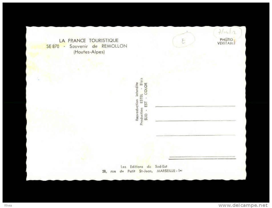 05 - REMOLLON - Souvenir De - SE 870 - Multi Vues - France