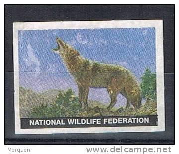 Viñeta NATIONAL WILDLIFE FEDRATION, Loup. Lobo - Variedades, Errores & Curiosidades
