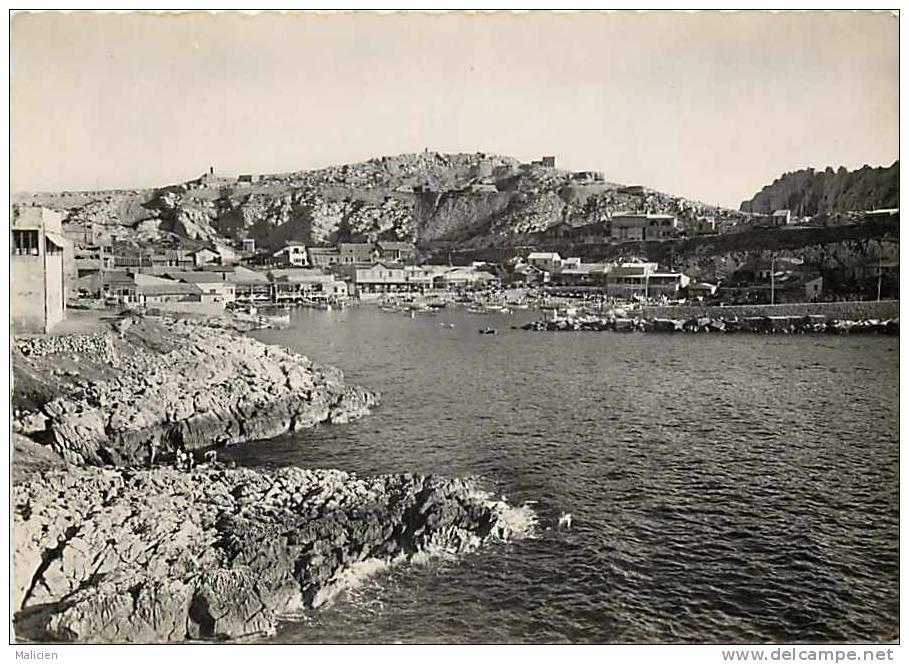 Bouches Du Rhone -ref Gd Format -ref 653 Marseille - Les Goudes  - Carte Bon Etat  - - Autres
