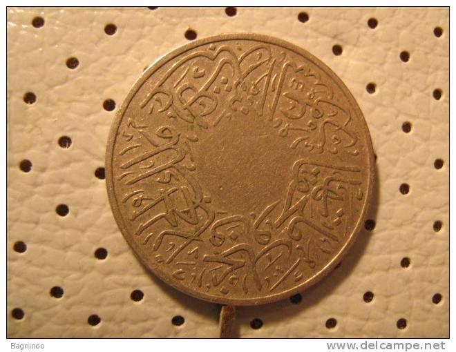 SAUDI ARABIA  1 Ghirsh KM 9 -1346 (1928) - Abd El Aziz Bin Saud  RARE - Saudi Arabia