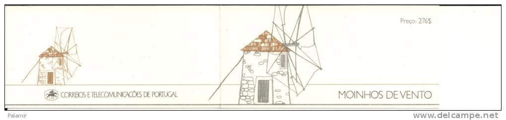 1989 Portugal - Windmills - Libretti