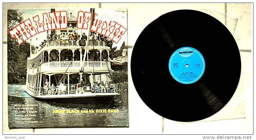 LP Vinyl  - THE LAND OF DIXIE , Jimmy Black And His Dixie-Band  ,  Von Weltmusik  -  WM 019 - Jazz