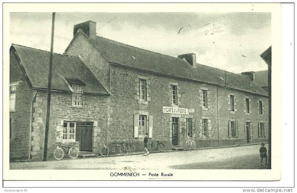 CPA - CARTE POSTALE - 22 - GOMMENECH - Poste Rurale - France