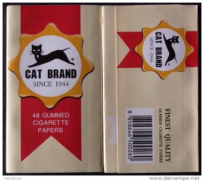 Feuilles CAT BRAND / LE CHAT  Papier à Rouler Cigarette   PORT OFFERT - Tabac (objets Liés)