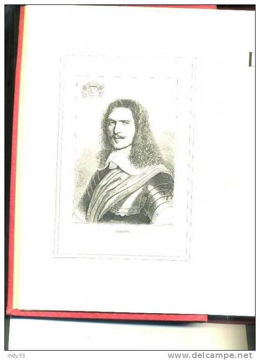 - HISTOIRE DE TURENNE MARECHAL DE FRANCE . PAR L. ARMAGNAC . A. MAME ET FILS EDITEURS . TOURS 1891 - 1801-1900