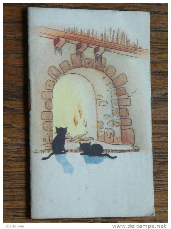 1950 Mondose Chocolatier-Confiseur Bruxelles ( 50 X 80 Mm. - For Details See Photo ) !! - Calendriers