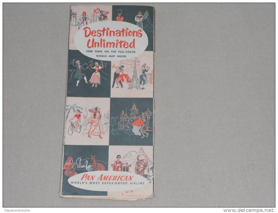 Pan American  Routes 1952 - Advertenties