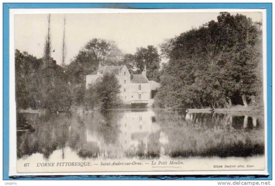 14 - SAINT ANDRE Sur ORNE -- Le Petit Moulin - France